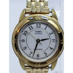 Timex indiglo womens Watch Gold Tone